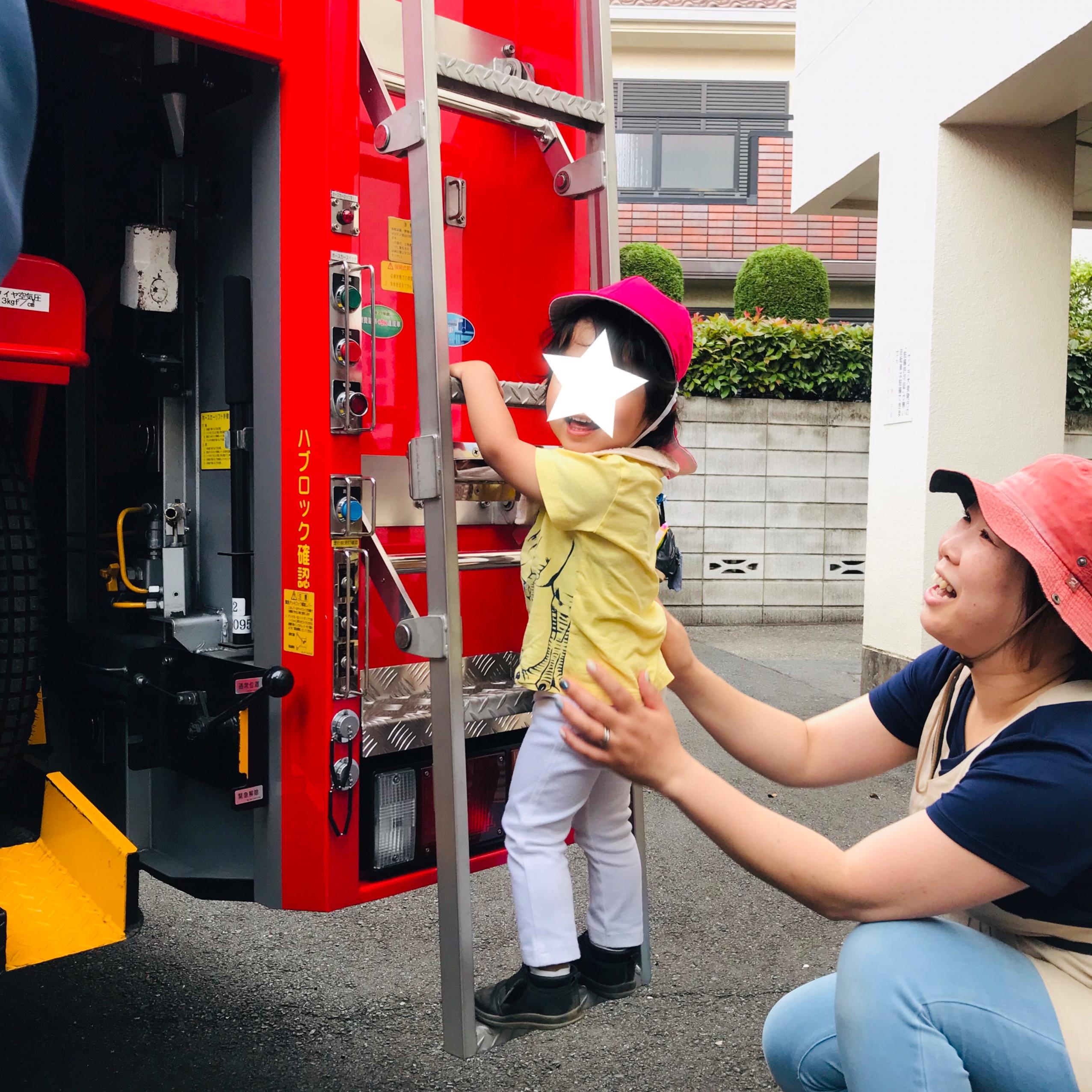 消防車のはしご
