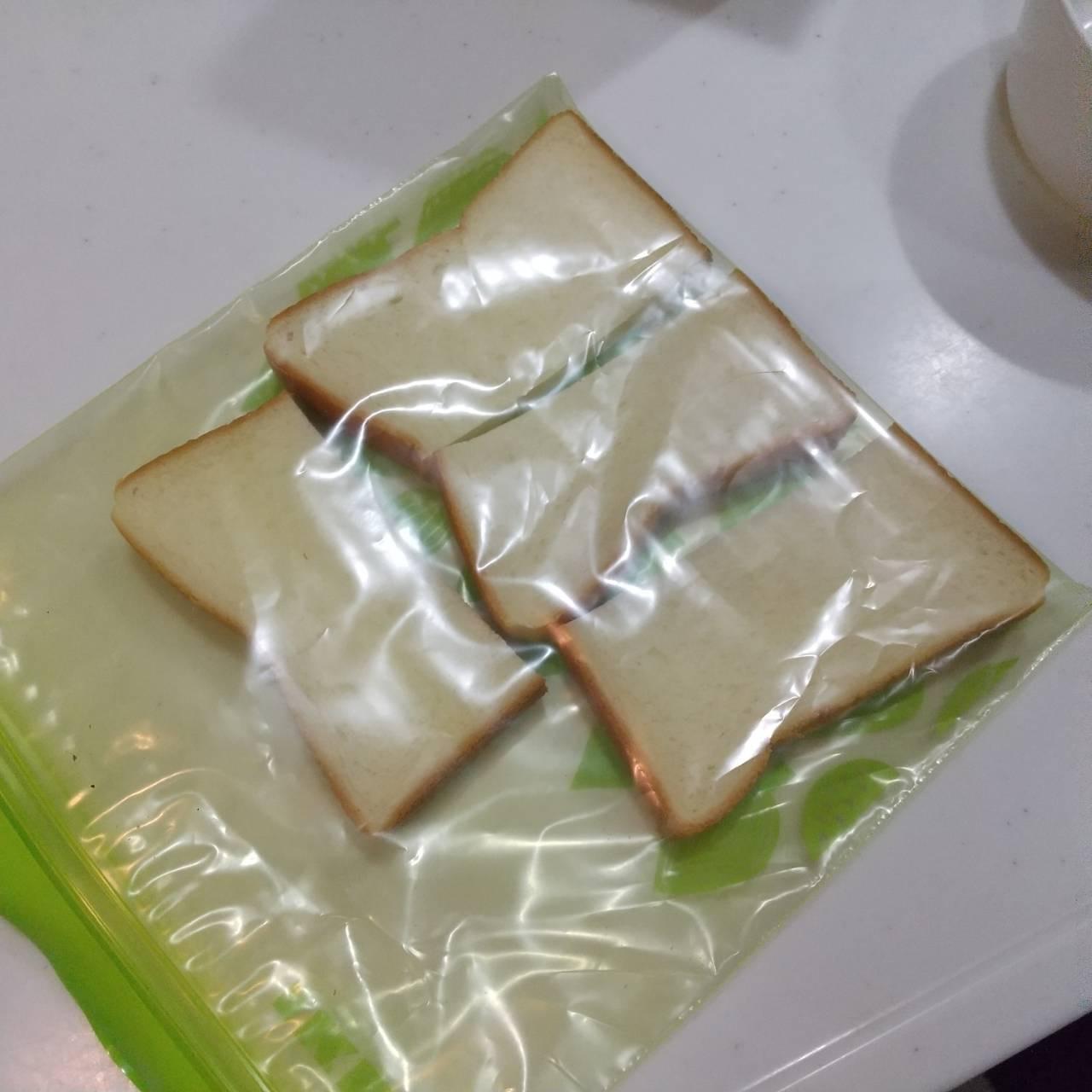 手作りトースト