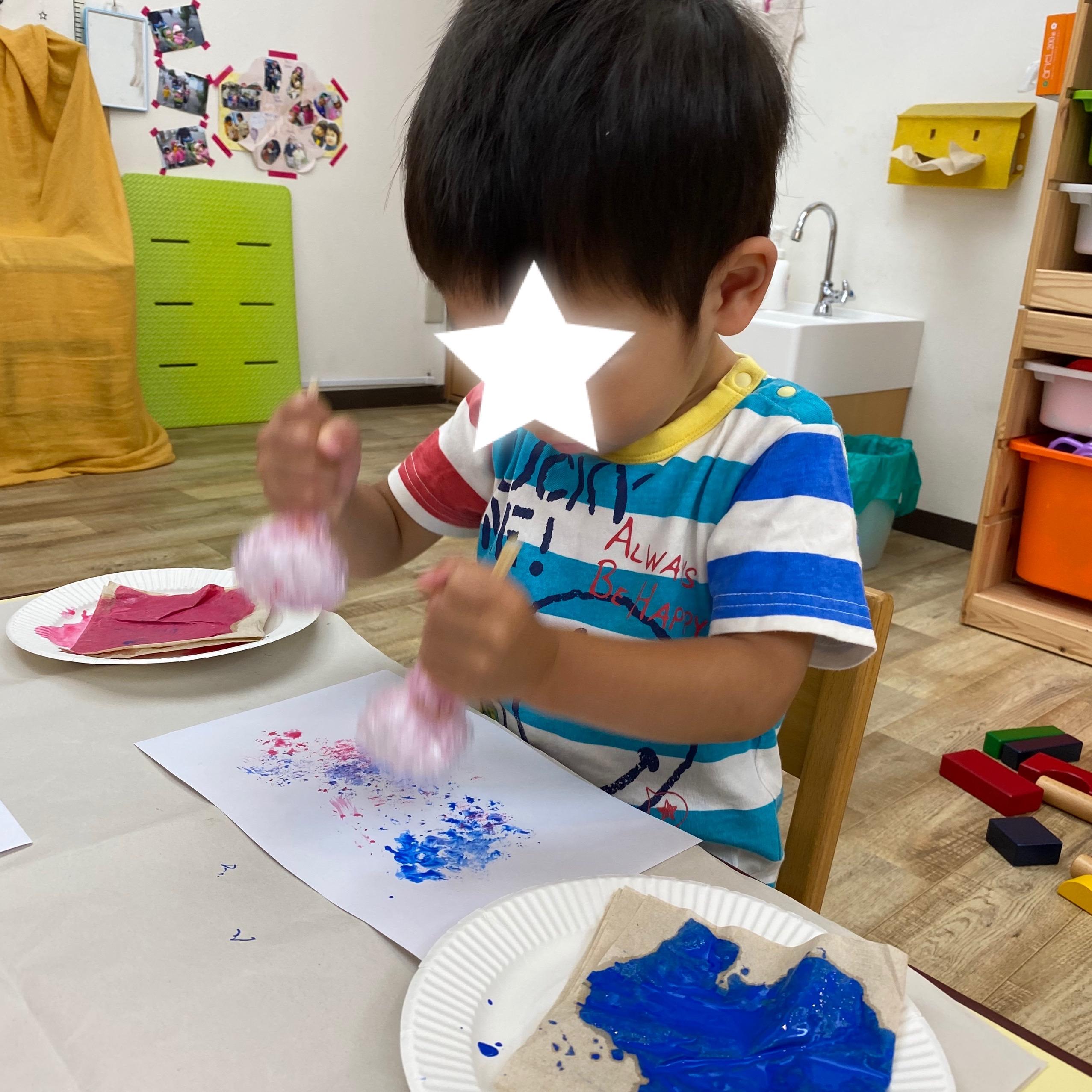 2歳児クラスの製作