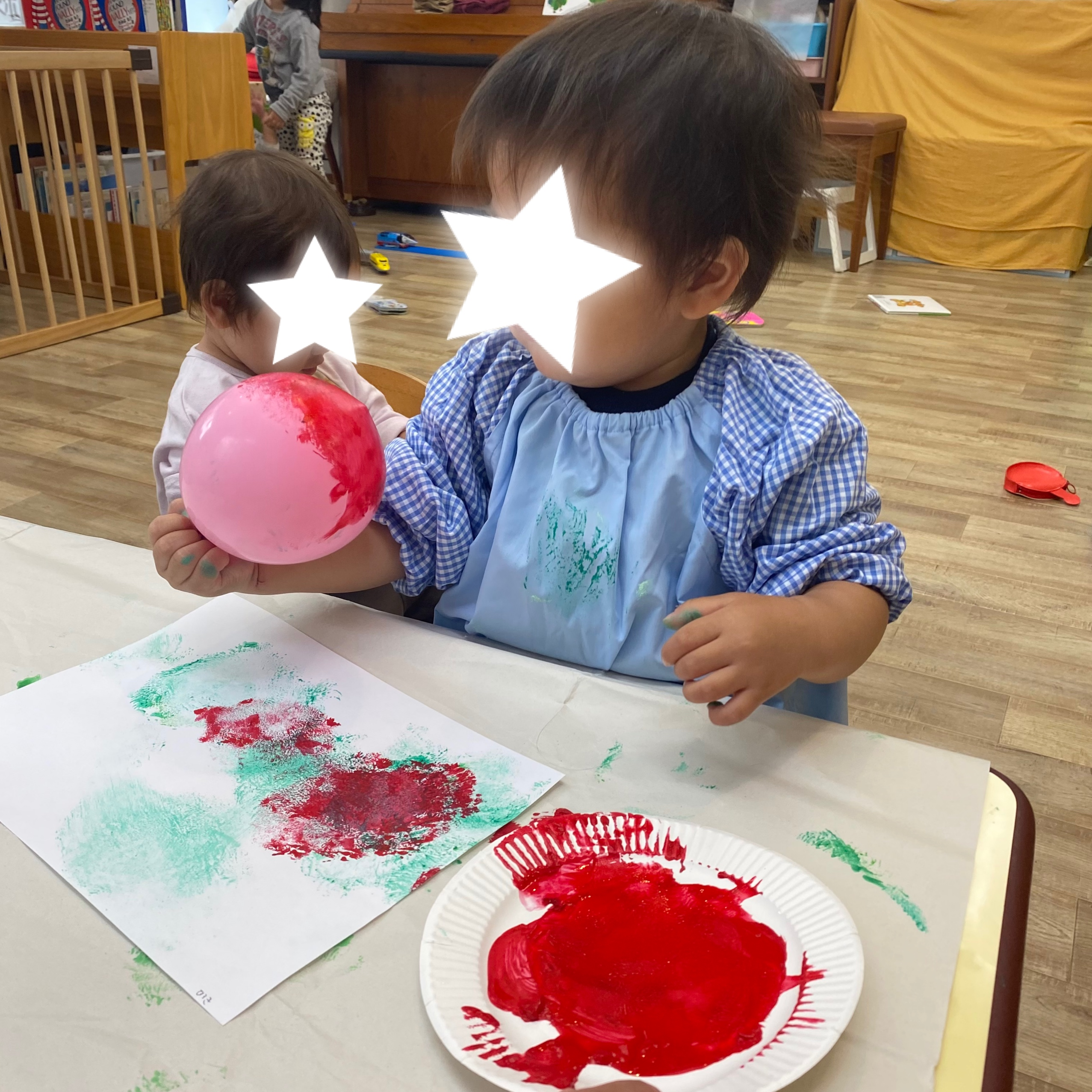1歳児クラス製作