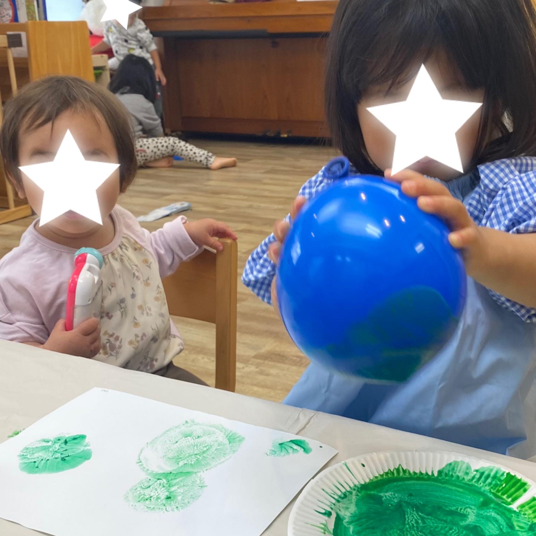 2歳児クラス製作