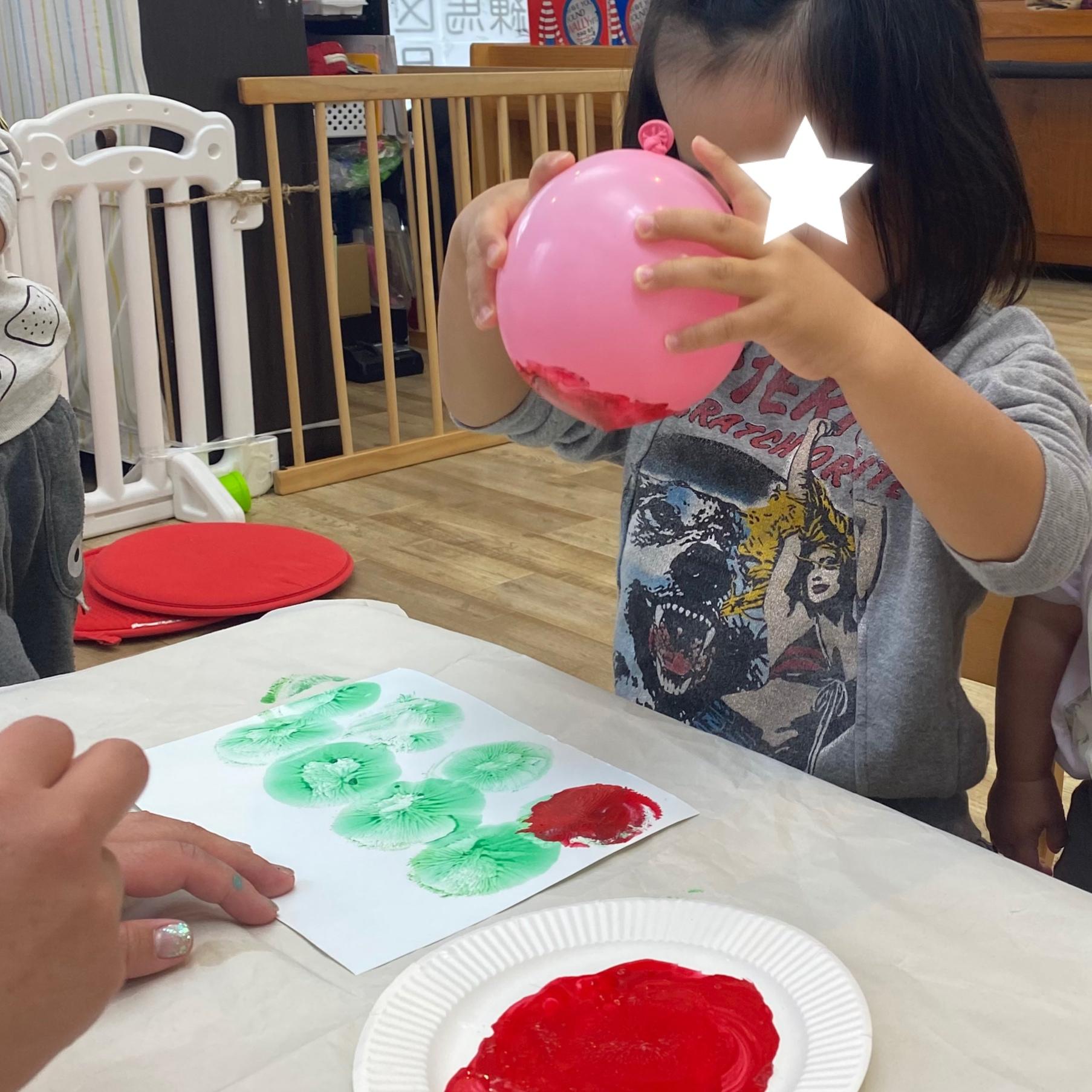 3歳児クラス製作